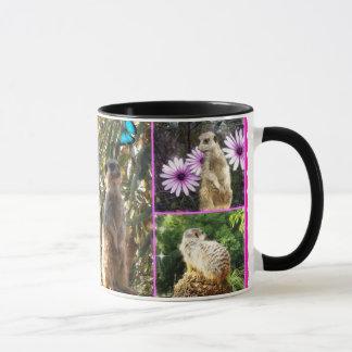 Mug Collage de Meerkat,