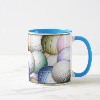 Mug Collage de volleyball