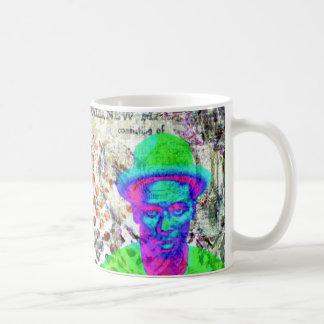 Mug Collage numérique de jazz et de bleus