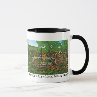 Mug Colonel de l'armée continental William Crawford