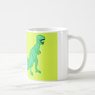 Mug combinaison de dinosaure et d'escargot