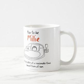 Mug Comment être un chat : MIllie