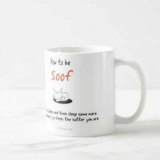 Mug Comment être un chat : Soof