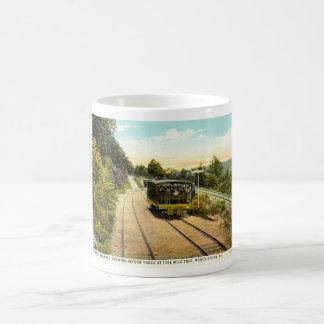 Mug Commutez de retour le chemin de fer, le cru 1925
