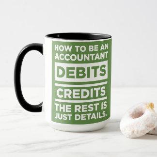 Mug Comptabilité Drinkware - comment être un comptable