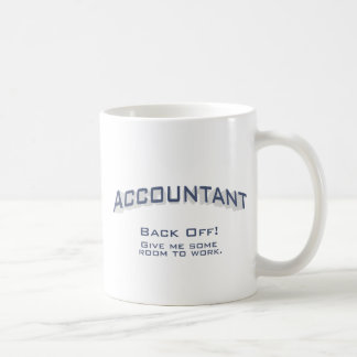 Mug Comptable - travail