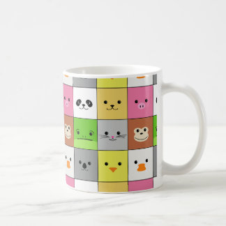 Mug Conception animale colorée mignonne de motif de