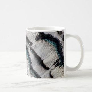 Mug Conception argentée de plume de faisan