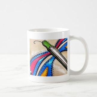 Mug Conception colorée de libellule