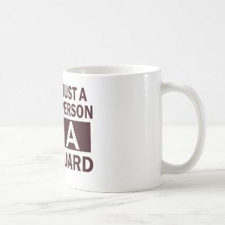 Mug conception de garde de vie