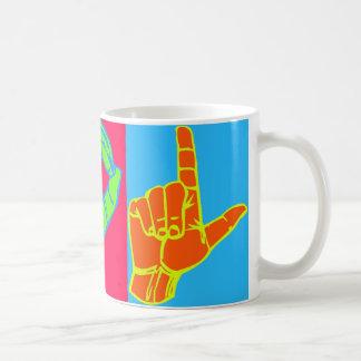 Mug Conception de langue des signes de LOL ASL
