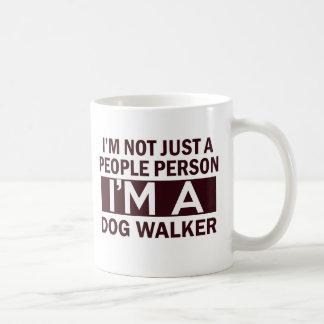 Mug conception de marcheur de chien