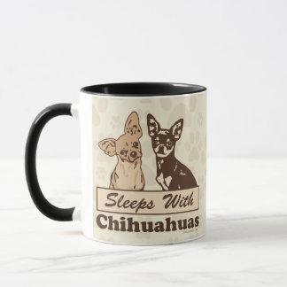 Mug Conception de propriétaires de chiwawas
