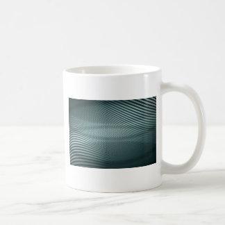 Mug conception de rayure bleue