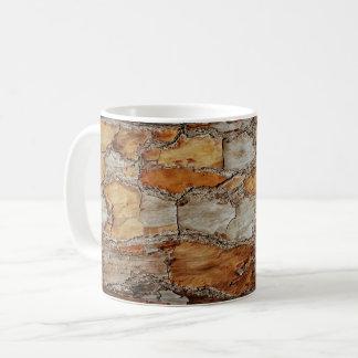 Mug Conception d'écorce de pin de la Floride