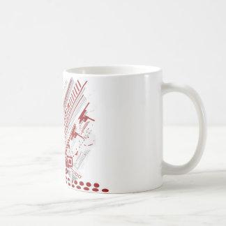 Mug Conception graphique d'arrière - plan de