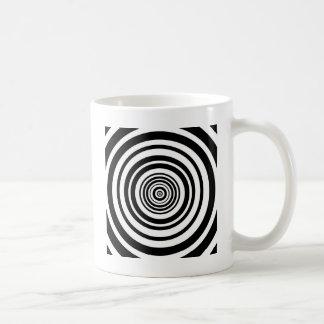 Mug Conception graphique de cercles concentriques