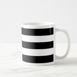 Mug Conception noire triple moderne et contemporaine