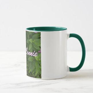 Mug Conception Tasse-Florale de Connie-Nom