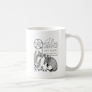 Mug Conception tatou d'Austin de schéma