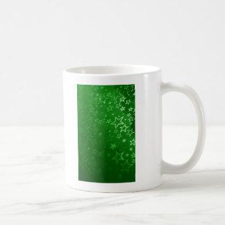 Mug Conception verte d'arrière - plan de Noël