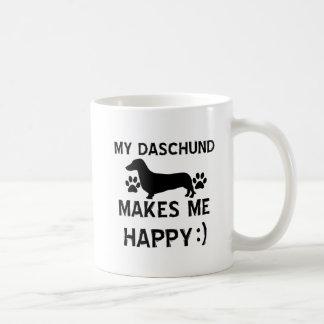 Mug Conceptions de chien de Daschund