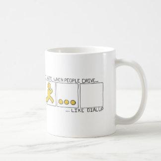 Mug Conduisez comme l'appel téléphonique