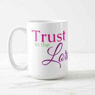 Mug Confiance dans le seigneur