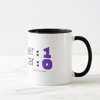 Mug Conscience de Cancer - parrain : 1 Cancer : 0