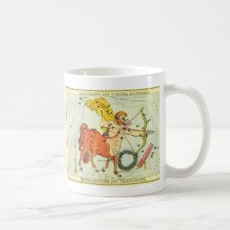 Mug Constellation vintage de Sagittaire d'astrologie
