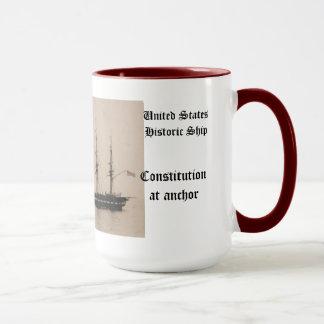 Mug Constitution au bateau historique des Etats-Unis