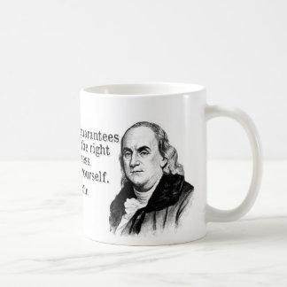 Mug Constitution de Ben Franklin