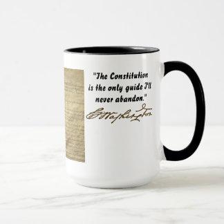 MUG CONSTITUTION DE GEORGE WASHINGTON