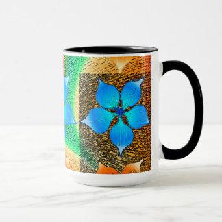 Mug Contemporain : Conception de fleur