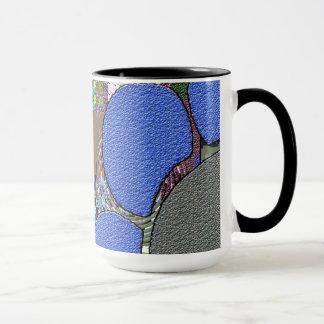 Mug Contemporain : Rétro style d'art de bruit