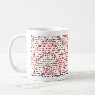 Mug Contes de Chaucer Cantorbéry de geek de Lit -