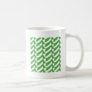 Mug Contrôles verts et de blanc