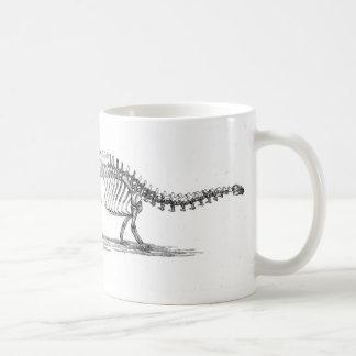 Mug Copie d'antiquité de dinosaure de brontosaure