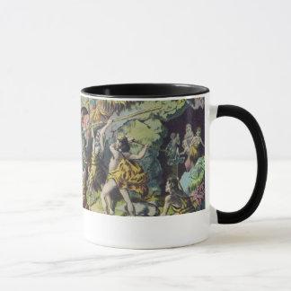 Mug Copie d'antiquité d'hommes de caverne