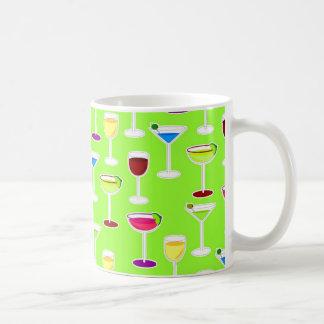 Mug Copie de cocktail de boissons alcoolisées - vert