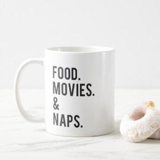 Mug Copie de films et de petits sommes de nourriture