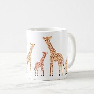 Mug Copie de safari de girafe