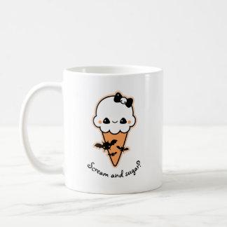 Mug Cornet de crème glacée de Halloween