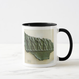 Mug Cortège des guerriers d'Elamite, Susa, Iran,