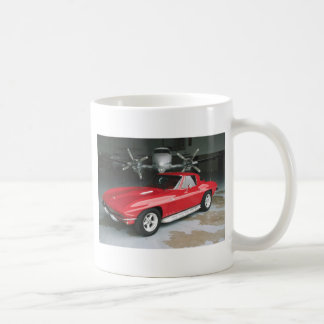 Mug Corvette rouge