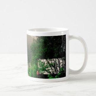 Mug Cottage norvégien étrange