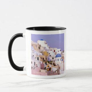 Mug Coucher du soleil à l'huile, Santorini 2