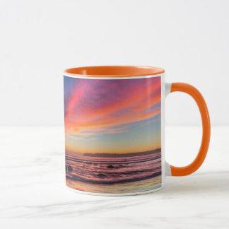 Mug Coucher du soleil au-dessus du Pacifique de