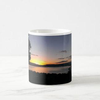 Mug Coucher du soleil dans Abiquiu Nouveau Mexique