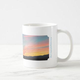 Mug Coucher du soleil de canyon de cerfs communs